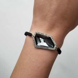 Jewelry - Faux Black Diamond Bracelet